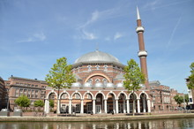 The Mosque Aya Sofya At Amster...