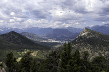 The Town Of Estes Park In The ...