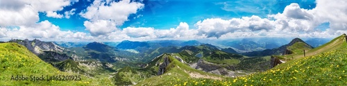 Photographie Berge Alpen Achensee Österreich