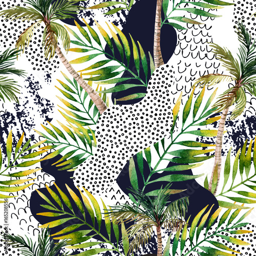 abstrakcjonistyczny-lata-tropikalny-drzewka-palmowego-tlo