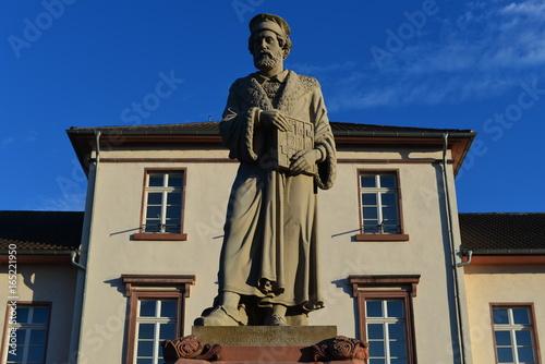 Zdjęcie XXL Pomnik Petera Schöffera w Gernsheim