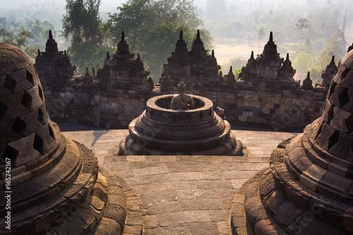 Wall Murals Temple Borobudur Temple, Yogyakarta, Java, Indonesia.