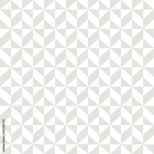 fototapeta na szkło Abstract geometric seamless pattern background 2