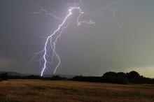 Lightning Strikes In The Valley