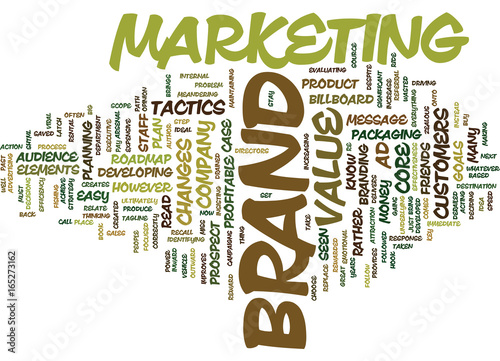 Photo  THE BIG PAY OFF BRAND VALUE Text Background Word Cloud Concept