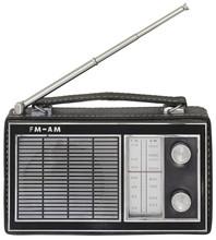 Old Portable Radio Cutout