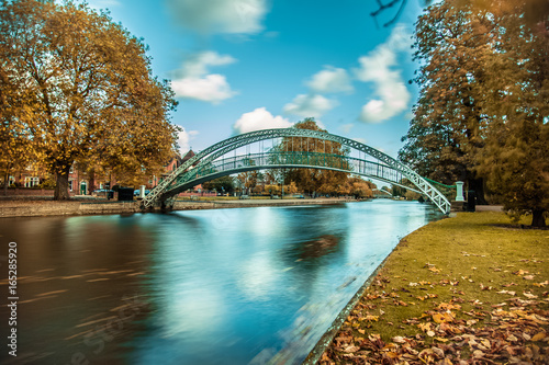 Great Ouse Bedford Autumn Wallpaper Mural