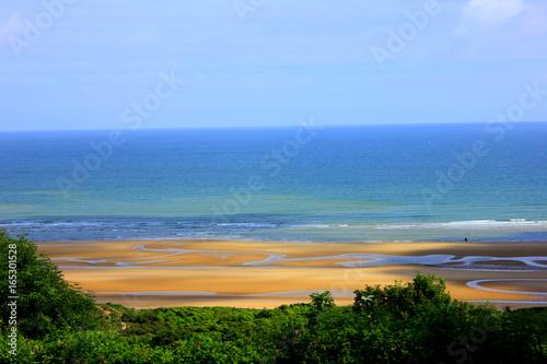 Canvas Print omaha beach en normandie