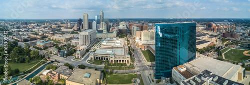 Poster Lieux connus d Amérique Indianapolis Drone View