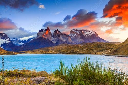 Valokuva  Torres Del Paine, Chile.