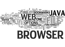 JAVA WEB BROWSER Text Backgrou...
