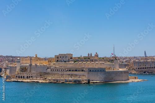 Papiers peints Fortification Fort Ricasoli auf Malta