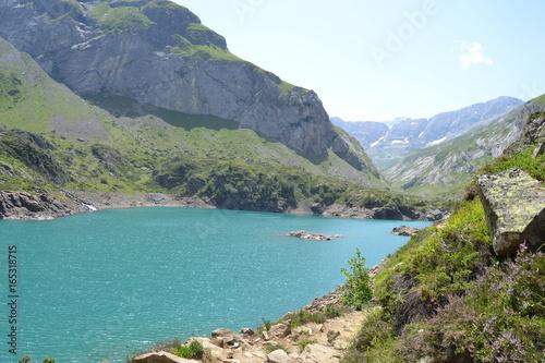 Fotobehang Landschap lac de gloriette