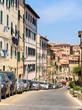 historic center of Portoferraio, Elba island, tuscany, italy