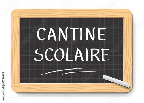 Obraz na plátně CANTINE SCOLAIRE