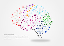 Colorful Brain Mapping Concept...