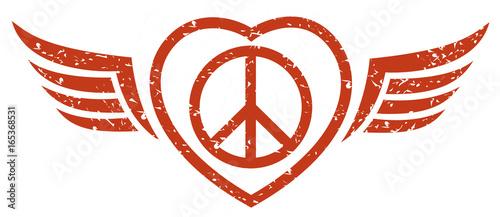 peace symbol Canvas-taulu