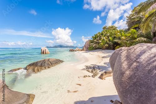 Foto op Canvas Eiland anse Source d'Argent, la Digue, les Seychelles