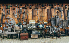Collection Of Aged Retro Tools...