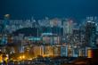 Hong Kong Skyscraper at night
