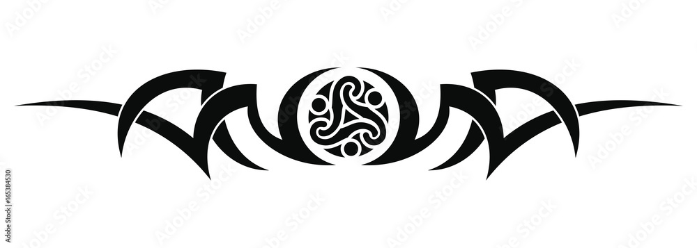 Fototapeta Tribal tattoo design