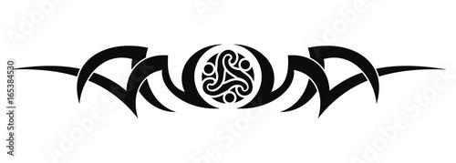Fotografie, Obraz Tribal tattoo design