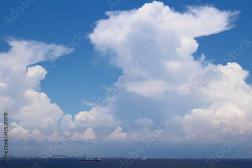 Foto op Canvas Luchtsport 海上の雲