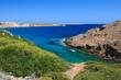 Baia di S'Arenal d'en castell - isola di Minorca (Baleari)