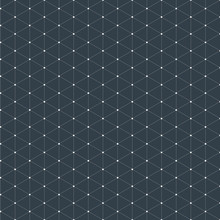 Modern Stylish Isometric Pattern Texture, Three-dimensional Rectangle, Repeating Geometric Background With Rhombus Circles Variously, Vector