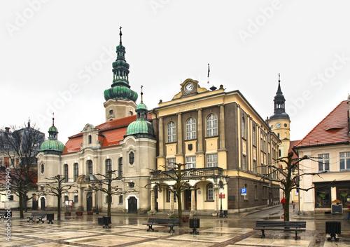 marketplace-in-pszczyna-poland
