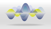 Colorful Motion Sound Wave Abs...