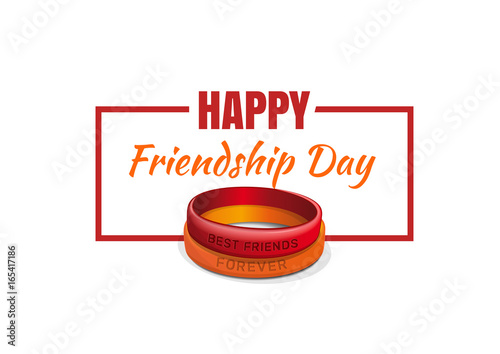 Friendship band and friendship day greetings for the design of friendship band and friendship day greetings for the design of banners and greeting cards friendship m4hsunfo