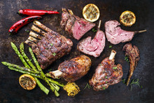 Barbecue Leg Of Lamb And Veal ...