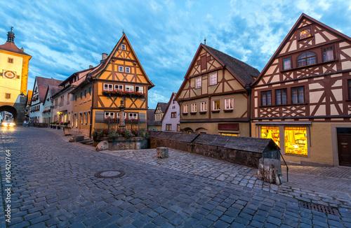 фотография  Rothenburg ob der Tauber Night