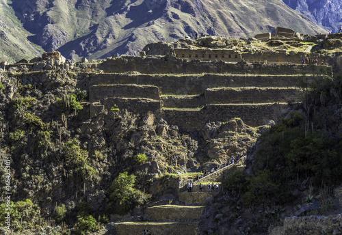 Fotografie, Obraz  Ollantaytambo town peru