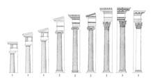 1. Doric 2. Ionic 3. Corinthia...
