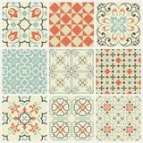 Fototapeta Kuchnia - Oriental traditional ornament, Mediterranean seamless pattern, tile design, vector illustration, seamless vector ornament, east.