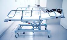 Hospital Gurney Or Stretcher A...