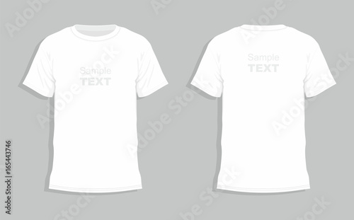 Fotografía  White t-shirt