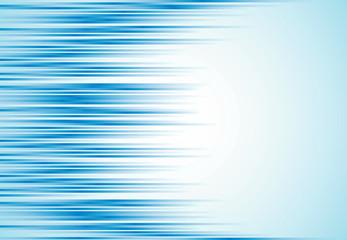 Abstrakcjonistyczna biznesowa horyzontalna pasiasta niebieska linia ruchu tekstura z kopii przestrzenią. Ilustracji wektorowych