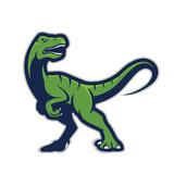 Fototapeta Dinusie - Raptor mascot logo