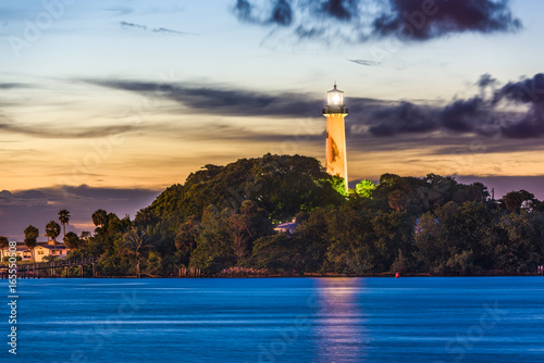 Fotografie, Obraz  Jupiter Florida Lighthouse
