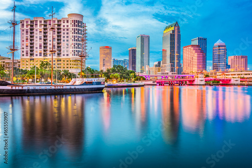 Valokuva  Tampa Florida Skyline