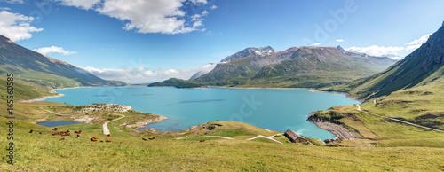 Foto auf Gartenposter Gebirge Panorama du Mont Cenis - Savoie