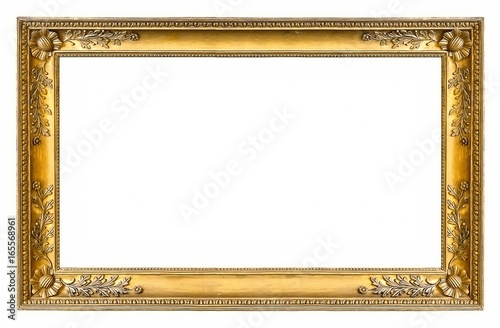 Canvastavla Golden frame for paintings, mirrors or photos