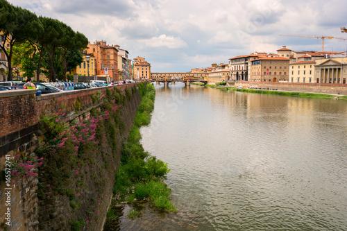 Deurstickers Toscane Ponte Vecchio, Florence, Italy