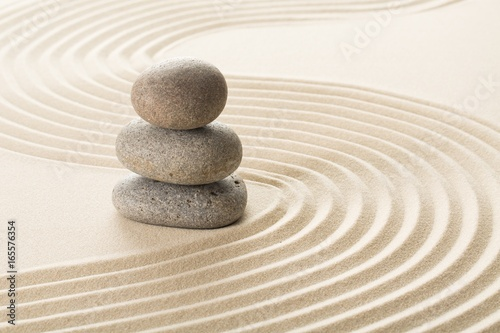 Printed kitchen splashbacks Stones in Sand Zen.