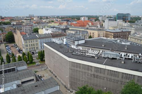 Plakat Poznań - widok z lotu ptaka/Poznan - aerial view, Greater Poland, Poland