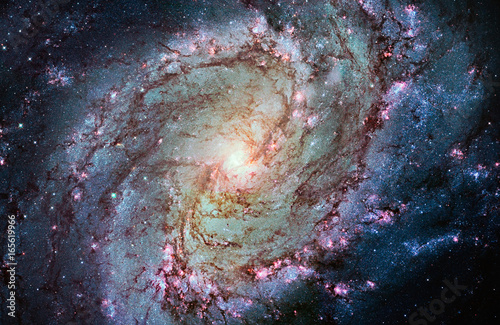 Messier 83, Southern Pinwheel Galaxy, M83 in the constellation Hydra.
