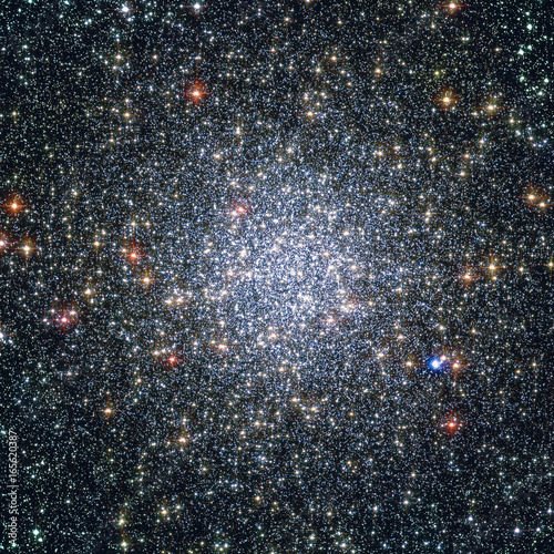 Globular cluster 47 Tucanae,  NGC 104  in the constellation Tucana.